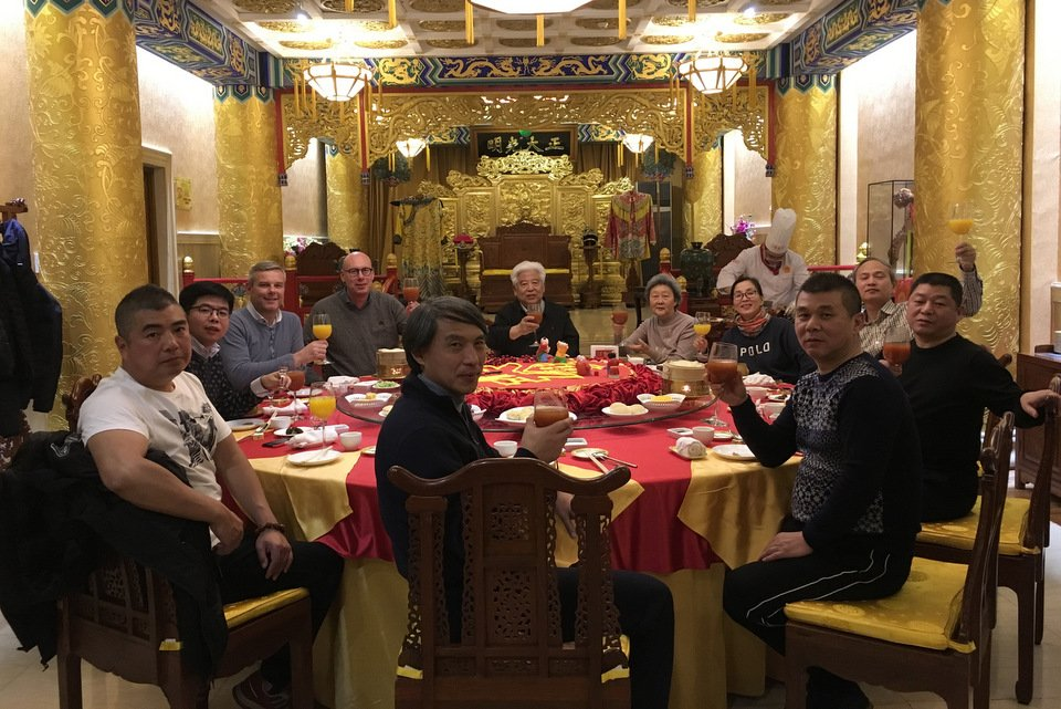 Visit to China by Evert Jan and Henk Jurriëns February 2018
