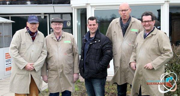 Comb. Kroesen visiting Eijerkamp