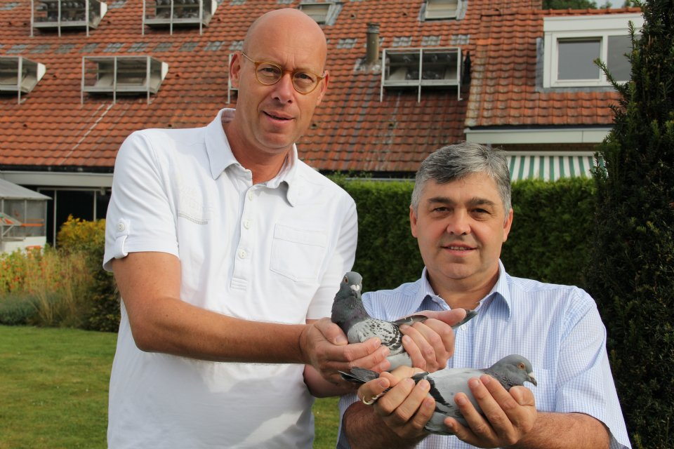 <b>Branko Gorupec</b> winner Derby Zagreb with 100% Eijerkamp pigeon