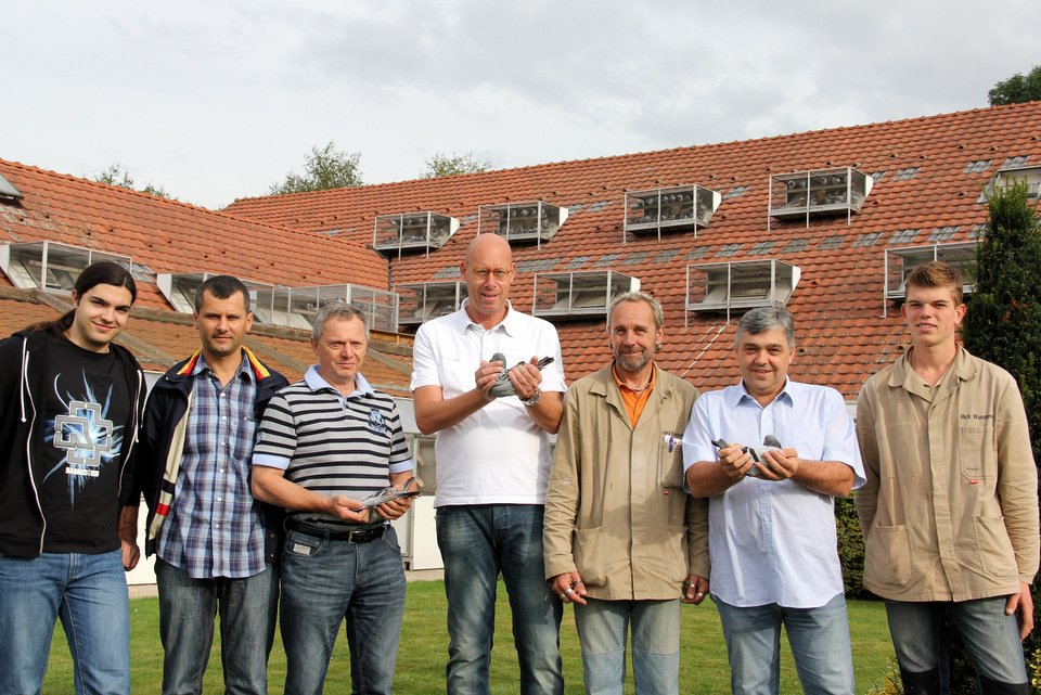 Visitors from Croatia at anniversary of Evert Jan