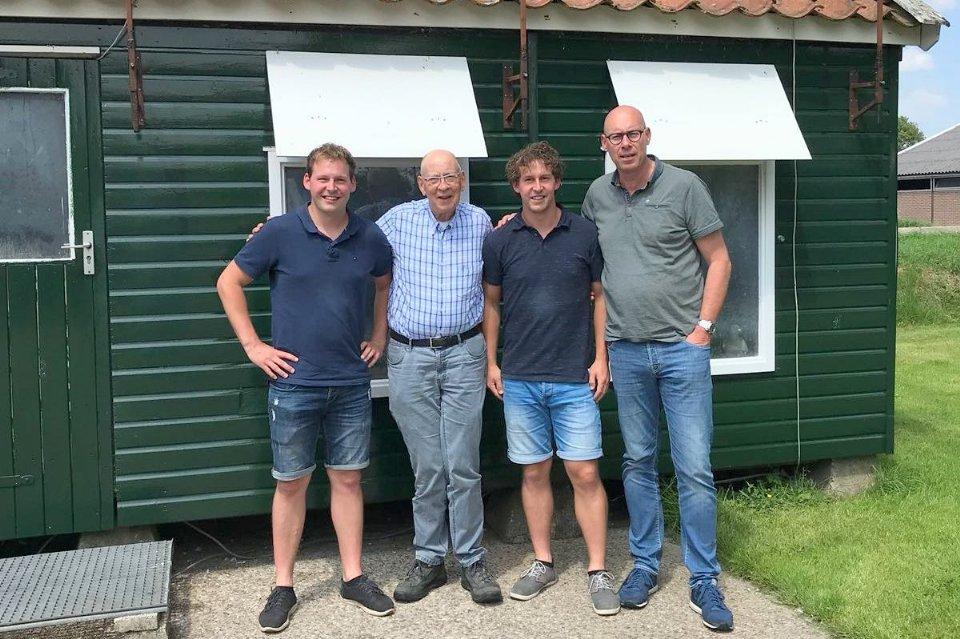 Homma Brothers, Steggerda