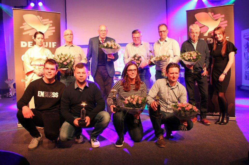 Award ceremony Gouden Duif