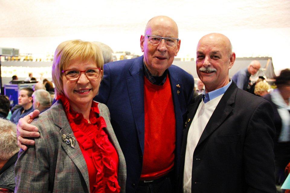 Gouden duif 2017: Renate Blum, Hans Eijerkamp, Gert Blum