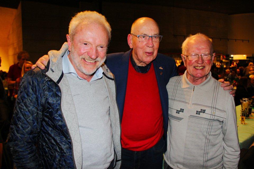 Gouden duif 2017: Leo Heremans, Hans Eijerkamp, Maurice Hazeldonk