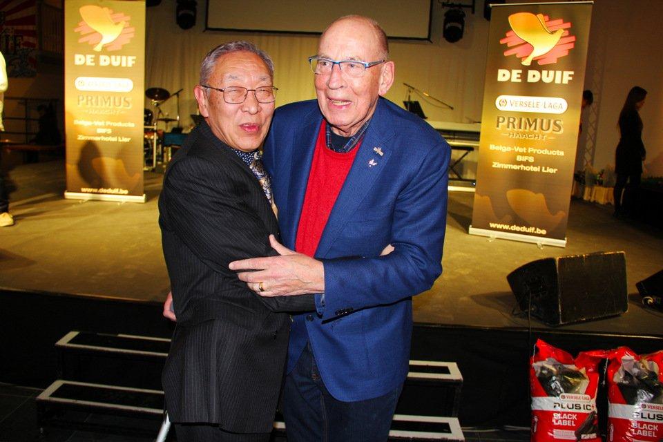 Gouden duif 2017: Kenichi Yosshihara and Hans Eijerkamp