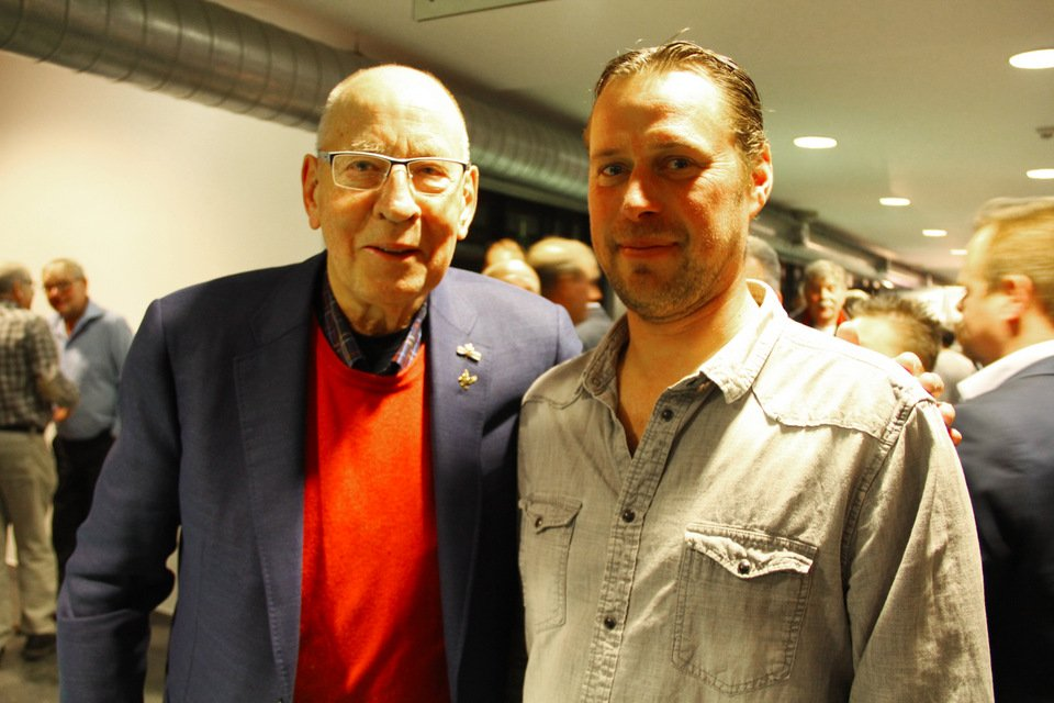 Gouden duif 2017: Hans Eijerkamp and Stefaan Lambrechts