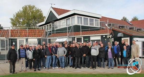 Group fanciers from Denmark visiting Eijerkamp