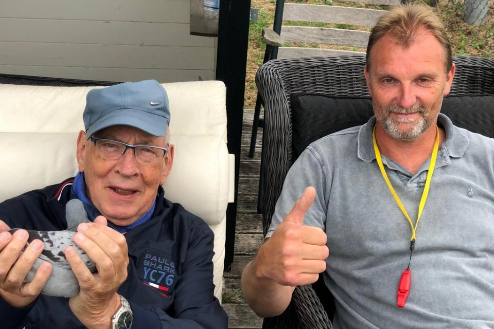 Hans Eijerkamp and Kees van de Beek with Jelika our first from Vierzon 2019