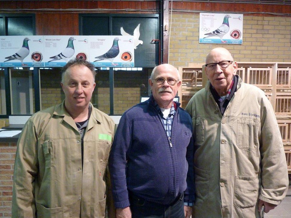 Nico Nijhof, Joop Groenen and Hans Eijerkamp