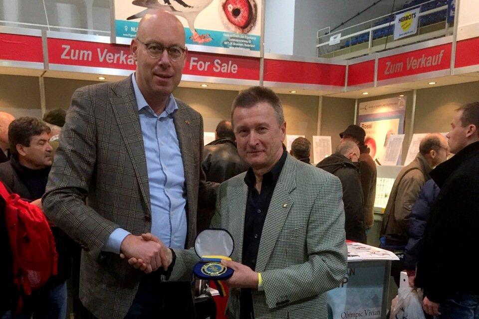 Vice chairman Ukrain organisation Sergey Vasilie