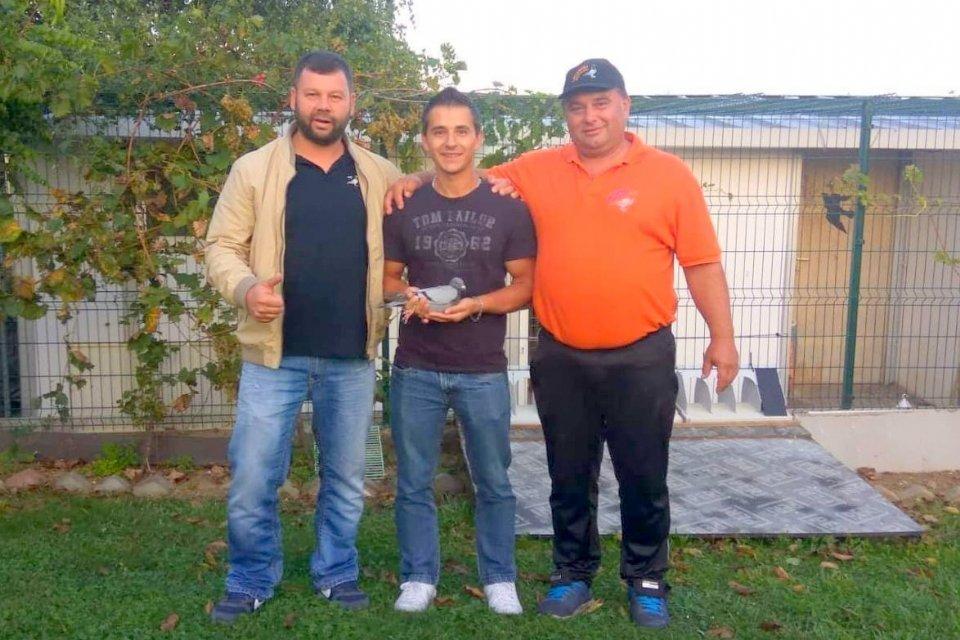 Descendents of Eijerkamp pigeons dominate the One Loft races in Croatia