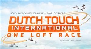 1e Internat. Ace Dutch Touch One Loft Race won by Paul Byrski � USA